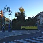 Porte du millénaire à Aubagne