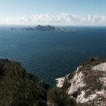 Superbe vue sur les îles Riou et Plane