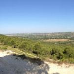 Vue du haut de la colline du Baoubacoua