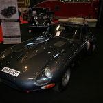 Une des nombreuses Jaguar Type E