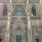 Cathédrale de Strasbourg, au matin
