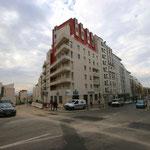 Le boulevard Charles Nedelec avec ses nouvelles résidences étudiantes