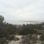 Panorama brumeux sur Marseille