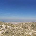 Vue panoramique du mont Carpiagne