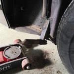 Mauvaise surprise sur ma voiture, il faudra remplacer les supports gauche et droite