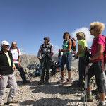 Arrivée au sommet du Calancioun