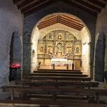 Chapelle à l'albergue de Vega-de-Valcarce