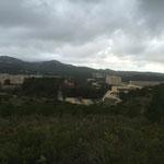 Je surplombe le campus de Luminy