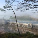 Le barrage du bassin de Réaltor