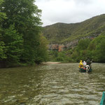Descente des gorges du Tarn