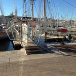 Le Marseillois coulé dans le vieux port