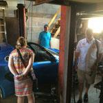 Dernière visite à son garage et il a descendu sa Lotus Elise