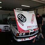 BMW 635 qui terminera troisième