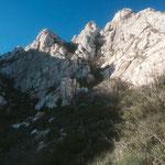 Avant une escalade vers le sommet