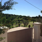 Villa avec deux terrains de tennis sur gazon