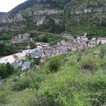 Arrêt pour descendre les gorges du Tarn