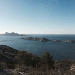Les îles de Riou et Plane