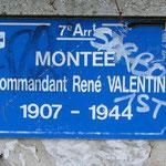 La Montée du commandant René Valentin