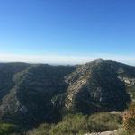 Direction le mont de Luminy