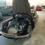 Restauration du moteur d'une DS 23 presque terminé