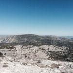 Vue sur le mont Carpiane et Saint Cyr que je ferai bientôt