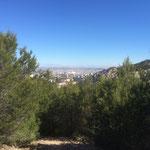 Vue sur Marseille avec son nouveau stade tout blanc au milieu