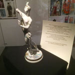 Statue de la grande danseuse Tamara Karsavina