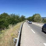 Une dernière longue route pour atteindre Manosque