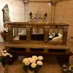 La châsse de Bernadette Soubirous