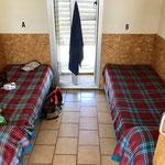 Une chambre à deux lits pour cette albergue à Azofra