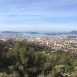 Vue sur la rade de Toulon