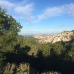 Belle vue sur Marseille