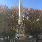 Place des prêcheurs à Aix en Provence