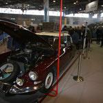 Le stand Citroën Héritage