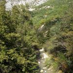 Le village Aiglun est là-haut