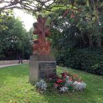 Croix arménienne dans le parc Borély
