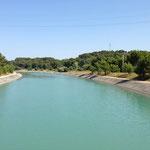 Canal EDF pour la production électrique