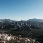 Le mont Puget au loin