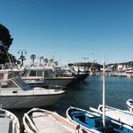 Départ du port de Cassis
