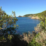 Cap Lardier au loin