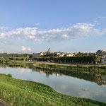 La Garonne et vue sur La réelle