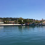 Je quitte le port de Saint-Mandrier