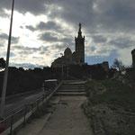 Montée vers Notre Dame de la Garde