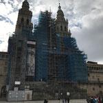 Enfin la cathédrale de Santiago