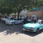 Le club Opel qui organisait cette manifestation