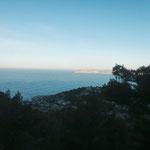 Je m'élève et ma vue sur Marseille s'éclaircie