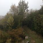 Petit chemin pour descendre vers Cipières