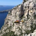 Hélicoptère en exercice