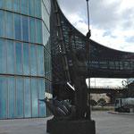 Le génie de la mer, statue faite en 1935 pour le paquebot le Normandie