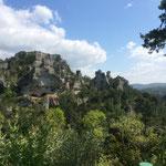 Visite du chaos de Montpellier-le-Vieux